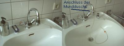 wasserhahn munddusche